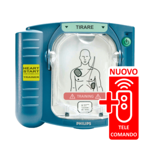 Philips HeartStart HS1 Trainer con telecomando