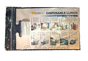 Actar D-Fib disposable longzakjes voordeelverpakking