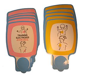 Physio-Control kinder vervangingsplakkers (5 paar)