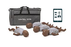 Laerdal Little Baby QCPR- pelle scura - 4-pack