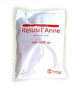 Vie aeree Laerdal Resusci Anne 700-1000 ml - confezione da 24 pezzi
