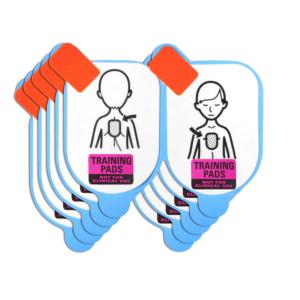Defibtech placche didattiche pediatriche di ricambio (5 coppie)