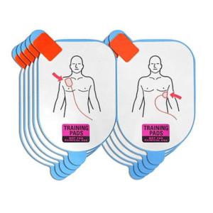 Defibtech placche didattiche di ricambio (5 coppie)